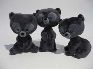 Peluche Disney Rebelle lot de 3 oursons