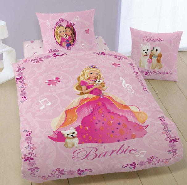 Parure housse de couette barbie diamond castle plushtoy - Housse de couette 90x190 ...