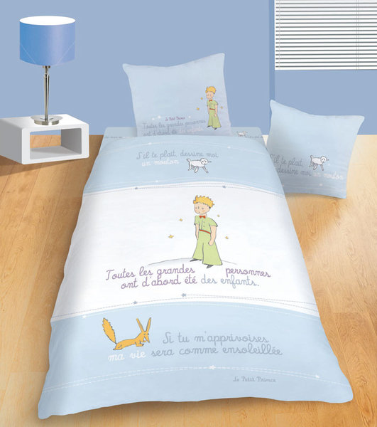 parure housse de couette le petit prince r ve plushtoy for housse de couette attrape reve with. Black Bedroom Furniture Sets. Home Design Ideas