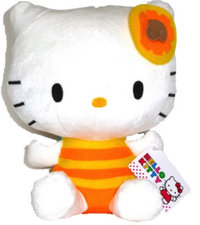Peluche Hello Kitty Abeille 20 cm