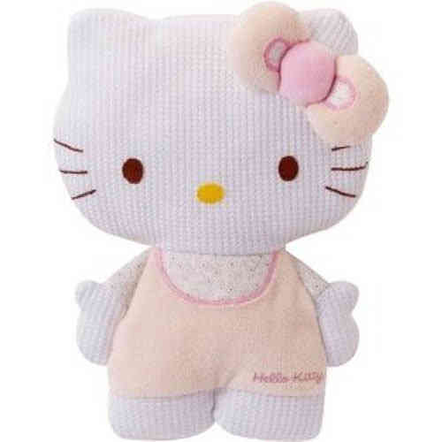 Doudou baby Hello Kitty silhouette