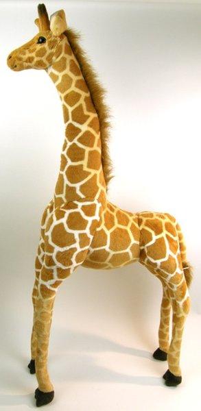 peluche girafe geante 140 cm de haut. Black Bedroom Furniture Sets. Home Design Ideas