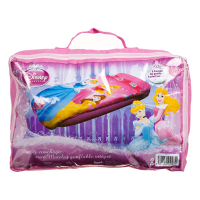 sac de couchage avec matelas disney princesses. Black Bedroom Furniture Sets. Home Design Ideas