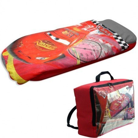Sac de couchage avec matelas disney cars plushtoy - Matelas gonflable avec sac de couchage ...