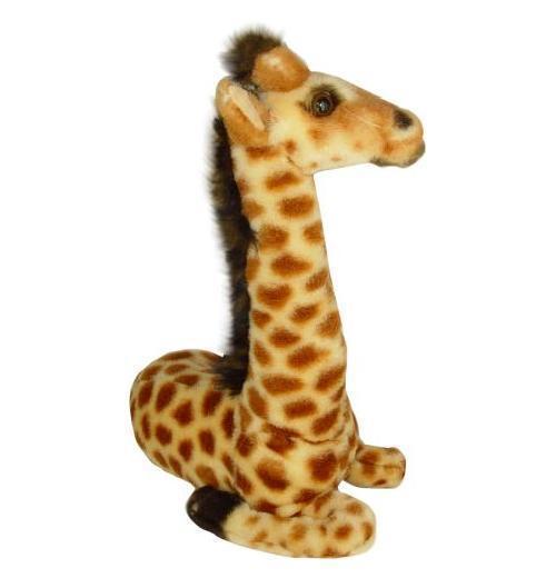 peluche girafe assise 30 cm. Black Bedroom Furniture Sets. Home Design Ideas