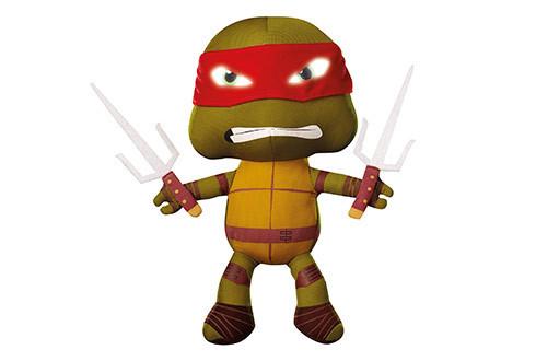 Veilleuse en peluche tortue ninja raphael go glow - Tortue ninja raphael ...