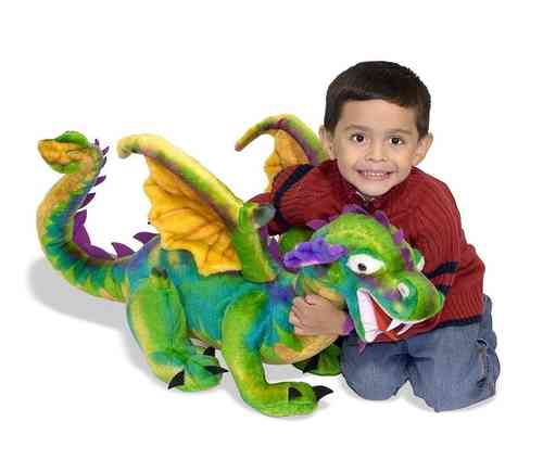 Peluche Dragons chinois 85 cm