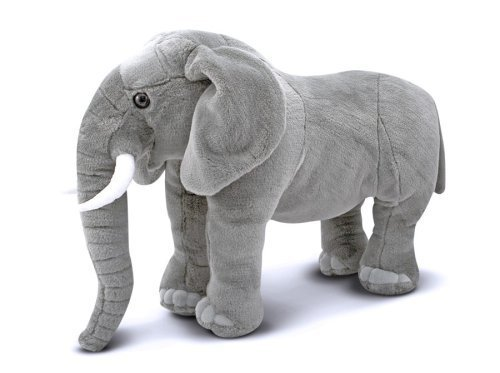 peluche elephant geant realiste 70 cm plushtoy. Black Bedroom Furniture Sets. Home Design Ideas