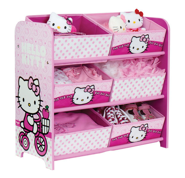 etagere de rangement hello kitty