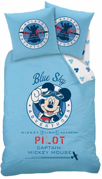 Parure Housse De Couette Disney Mickey Pilot