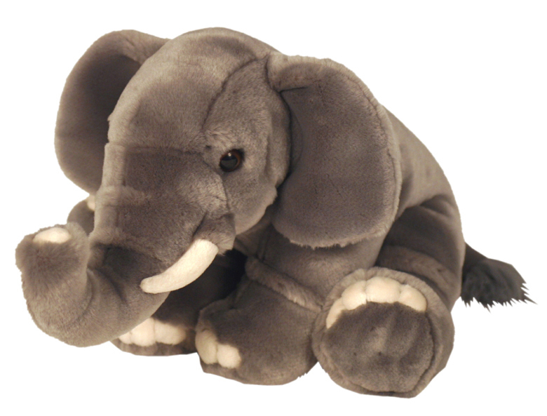 peluche elephant 45 cm plushtoy. Black Bedroom Furniture Sets. Home Design Ideas