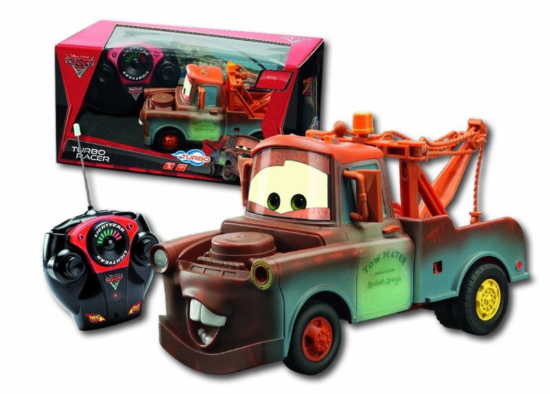 voiture t l command e disney cars martin 1 24 19 cm plushtoy. Black Bedroom Furniture Sets. Home Design Ideas