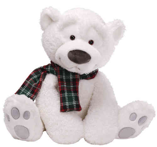 Peluche ours polaire Gund Snowsly 45 cm