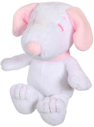 Peluche snoopy rose  layette 29 cm