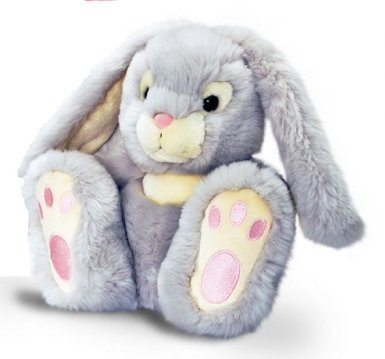 Peluche Lapin gris kell toys 25 cm
