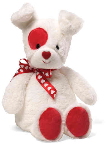 Peluche Chien Gund Love Patch
