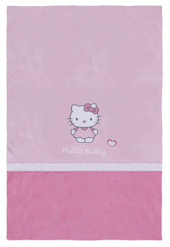 Couvre lit Hello Kitty Alice 80 x 120 cm