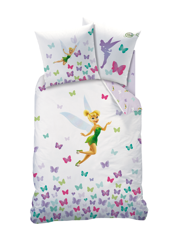 Parure housse de couette fairies clochette fresh plushtoy - Housse de couette 60x120 ...