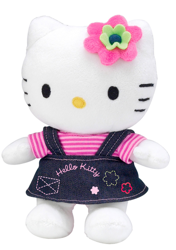 Peluche Hello Kitty 4 saisons Eté 20 cm