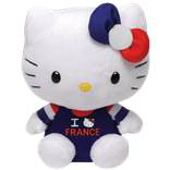 Peluche Hello Kitty 15 cm I love France