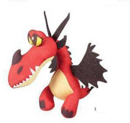 Peluche Krochefer dragons 2 34 cm