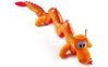 Peluche Dragon orange 75 cm Blesy