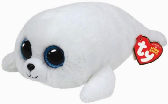 Peluche ty beanie boo 39 s icy phoque 30 cm - Jeux de toutou a gros yeux ...