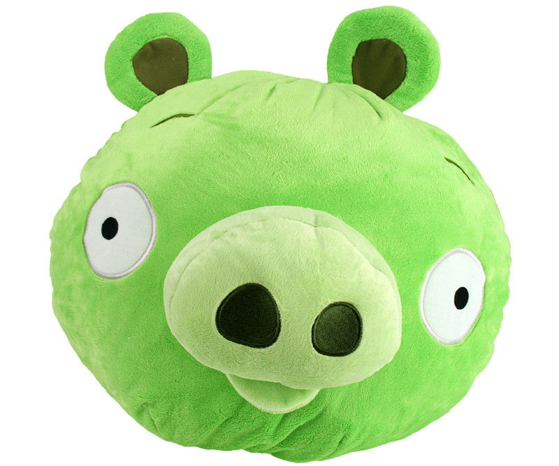 Peluche angry birds cochon geant 40 cm - Cochon angry bird ...