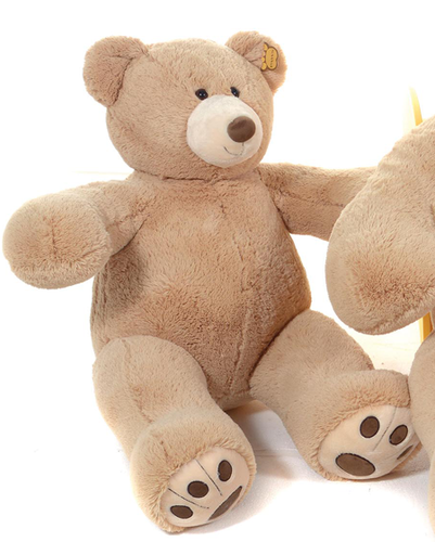 Peluche ours marron Gregory bear 75 cm