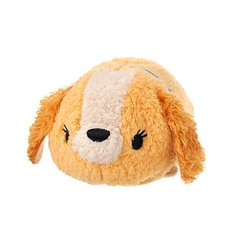 Peluche tsum tsum belle et le clochard disney mini