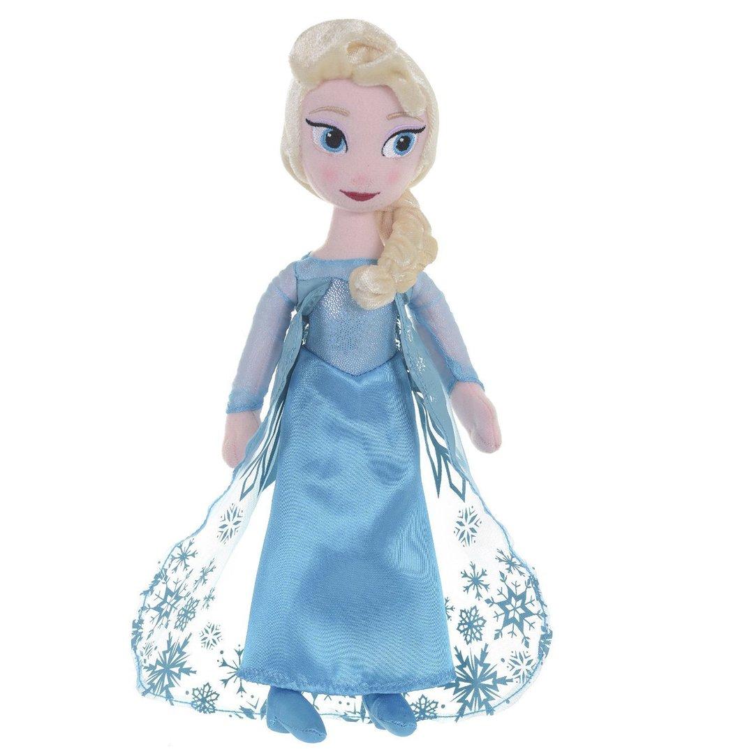 Peluche elsa la reine des neiges disney 40 cm - Reine de neige 2 ...