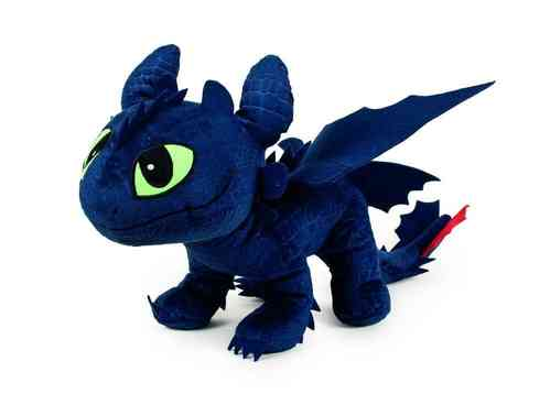 Peluche Dragons 2 croque mou 65 cm