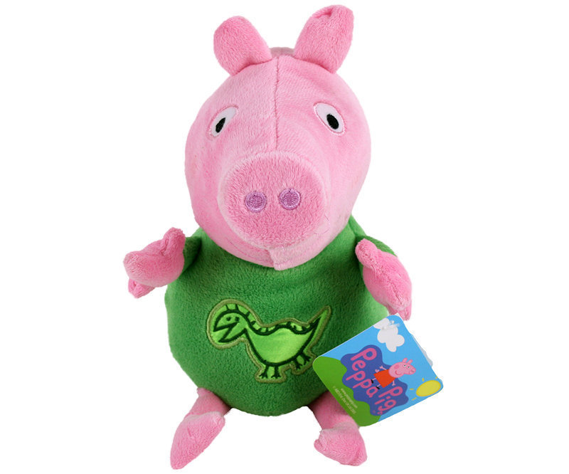 peluche peppa pig dinosaure 30 cm plushtoy. Black Bedroom Furniture Sets. Home Design Ideas