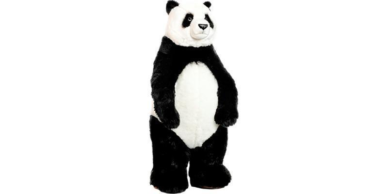 peluche panda g ant wwf debout 100 cm plushtoy. Black Bedroom Furniture Sets. Home Design Ideas