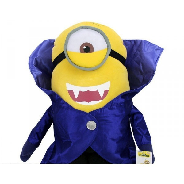 peluche vampire minion geante 60 cm. Black Bedroom Furniture Sets. Home Design Ideas