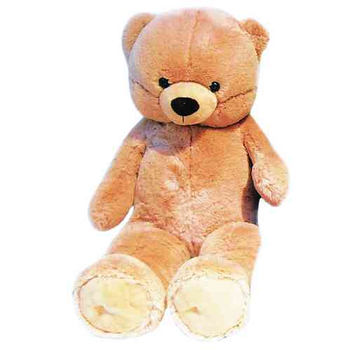 Peluche Ours beige 90 cm
