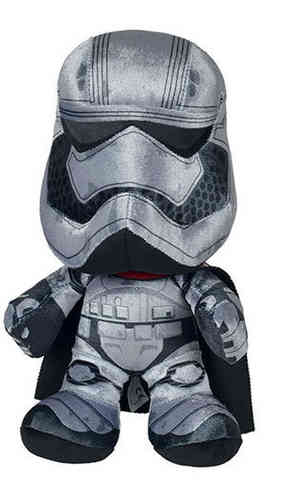 Peluche Star Wars Capitaine Phasma 25 cm