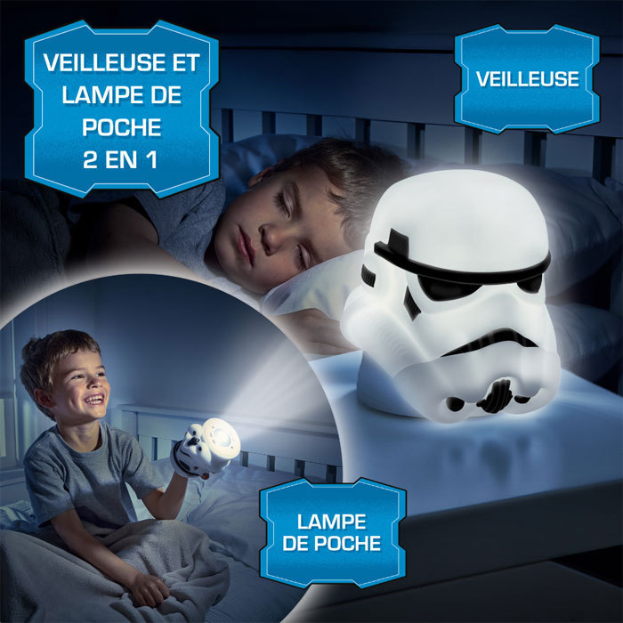 veilleuse lampe torche star wars go glow buddy storm trooper plushtoy. Black Bedroom Furniture Sets. Home Design Ideas