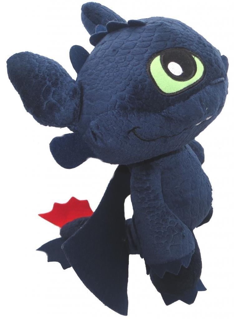Peluche dragon 2 furie nocturne 22 cm - Peluche furie nocturne ...