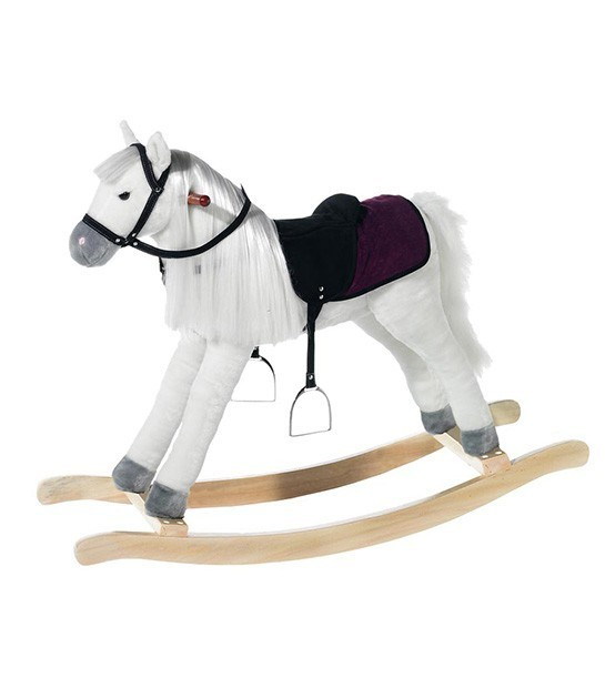 Peluche cheval a bascule Wendy Penny 105
