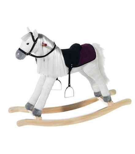 Peluche cheval a bascule Wendy Penny 105 cm