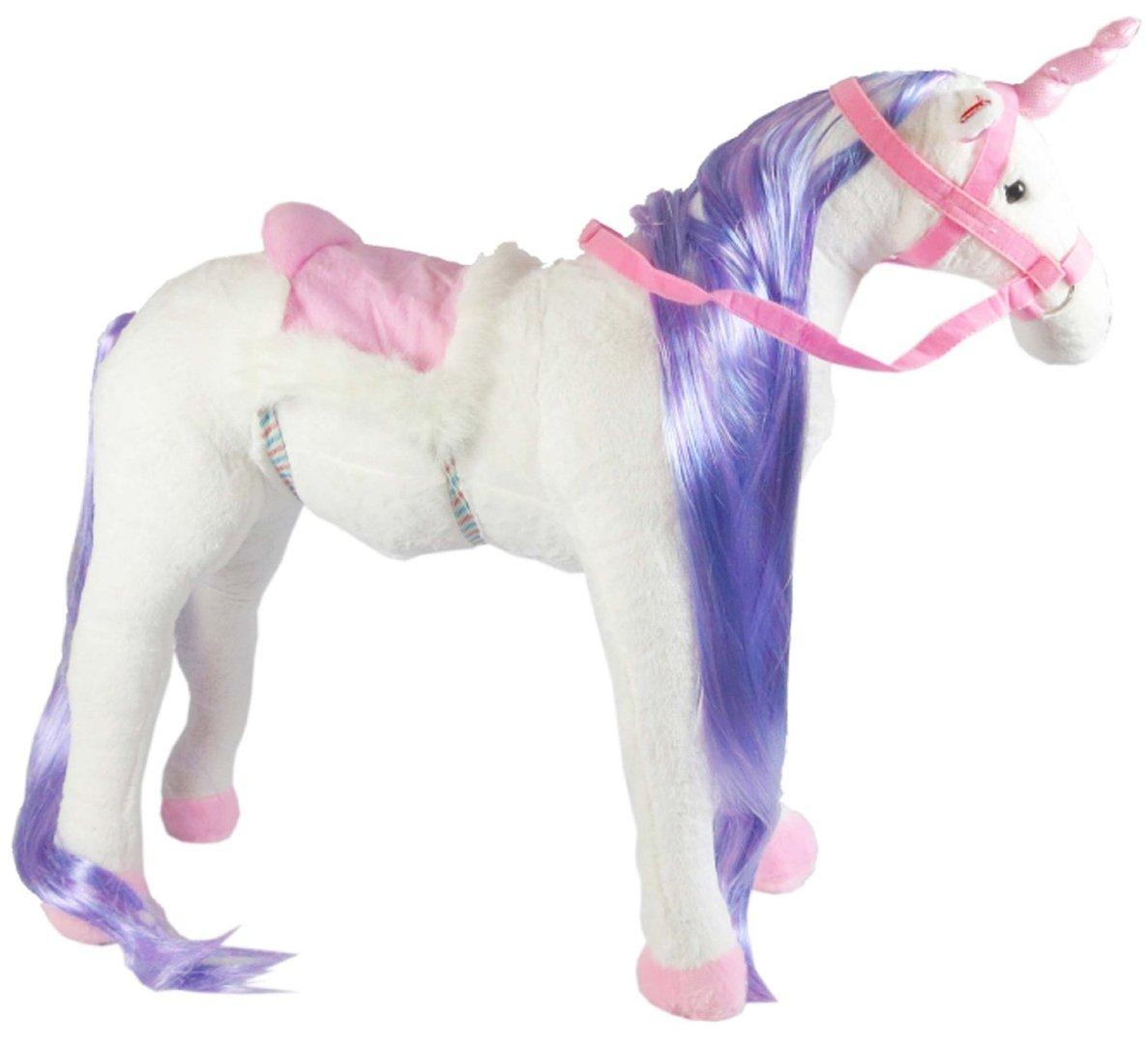 peluche licorne monter 78 cm plushtoy. Black Bedroom Furniture Sets. Home Design Ideas