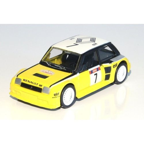 Voiture racing vintage 1/43 Renault maxi turbo