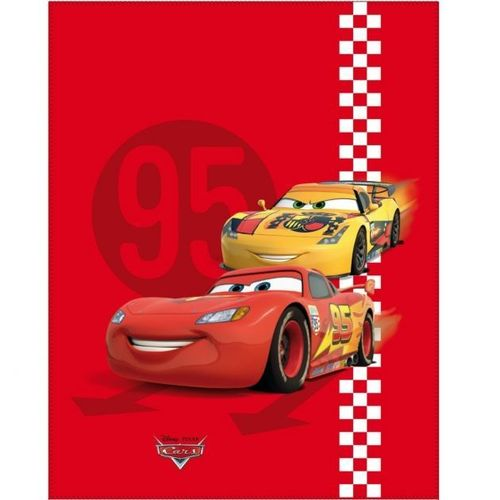 Plaid Disney Cars Red Tire 110 x 140 cm
