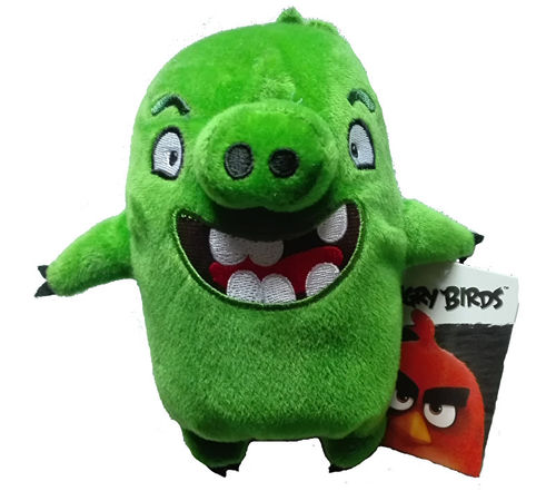 Peluche angry birds plushtoy - Cochon angry bird ...