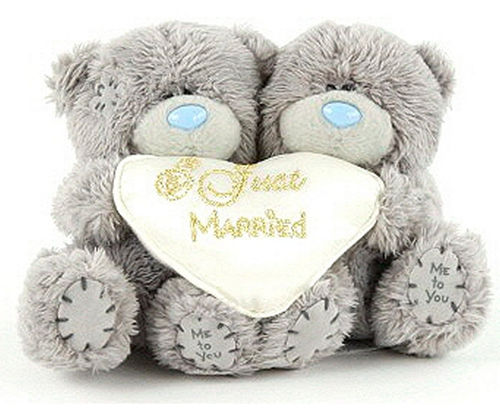 Peluche Me to you just married