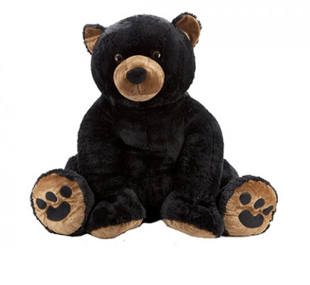 Peluche ours grizzly grande taille 100 cm