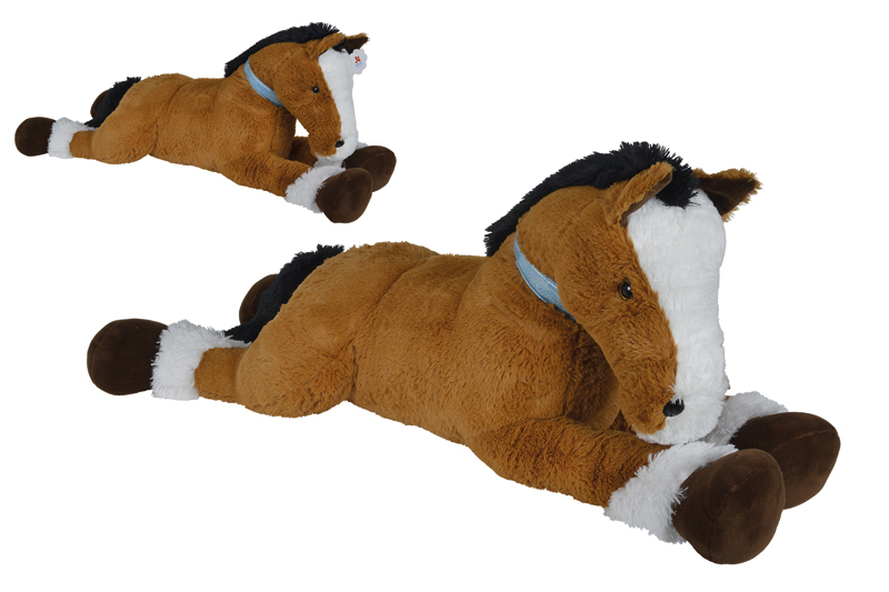 peluche cheval 120 cm couch plushtoy. Black Bedroom Furniture Sets. Home Design Ideas