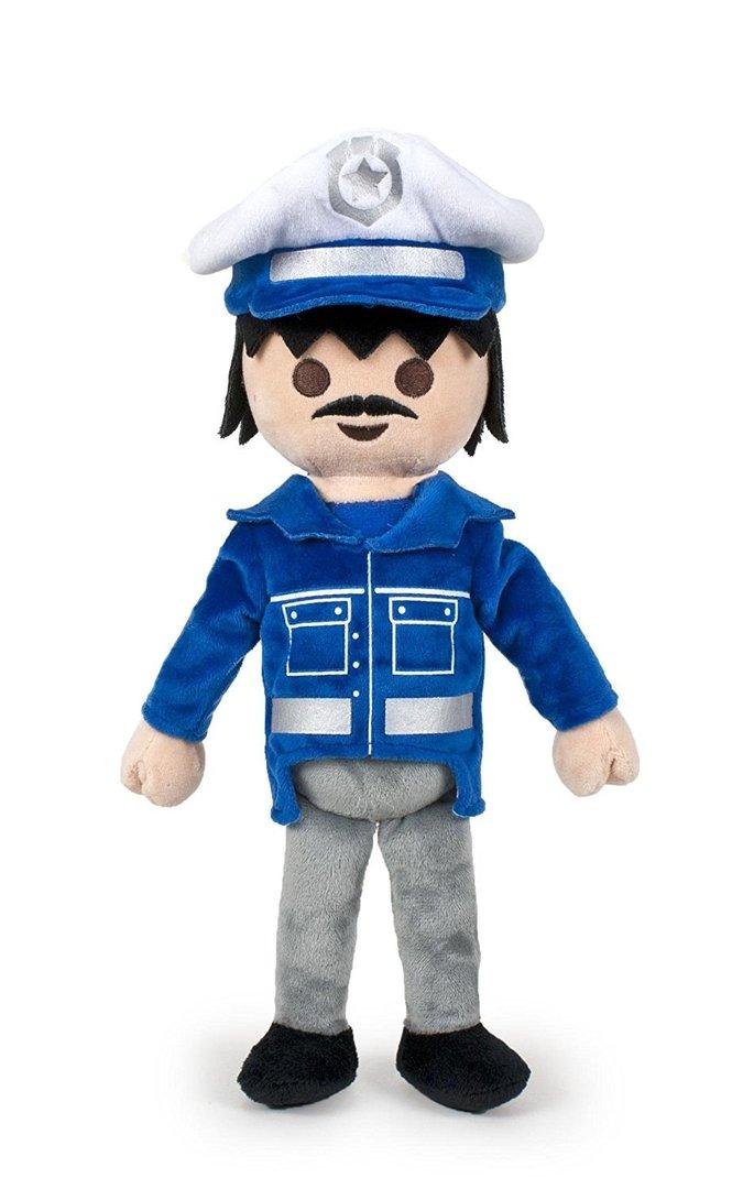 Peluche playmobil policier 30 cm - Playmobile policier ...