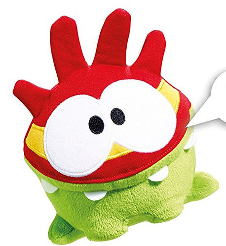 Peluche Cut the rope 16 cm Masque rouge